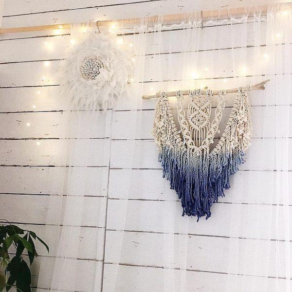 透け感も美しいマクラメ編み雑貨