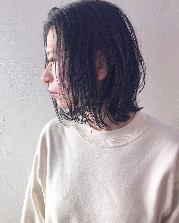 【最新】大人可愛いボブヘア×黒髪・暗髪7
