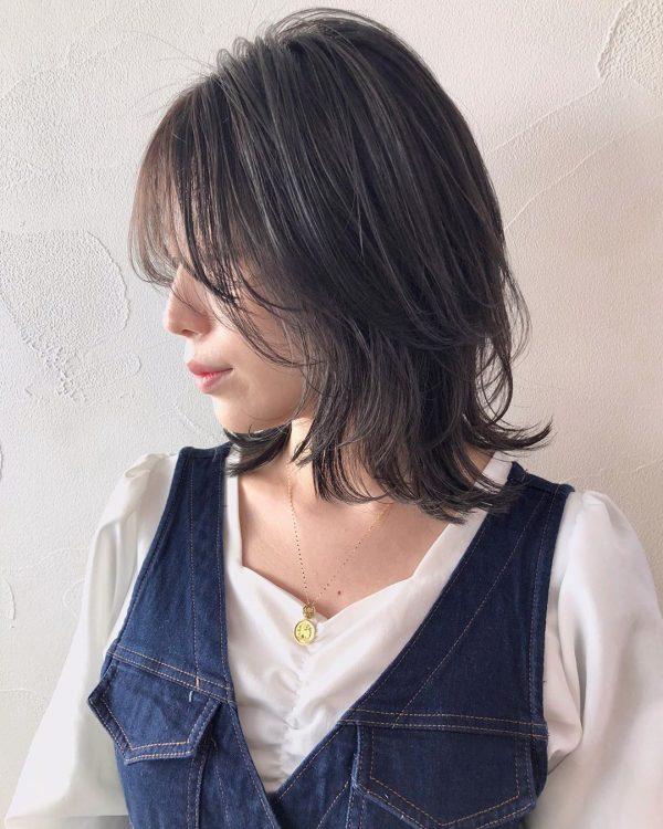 【最新】大人可愛いボブヘア×黒髪・暗髪6