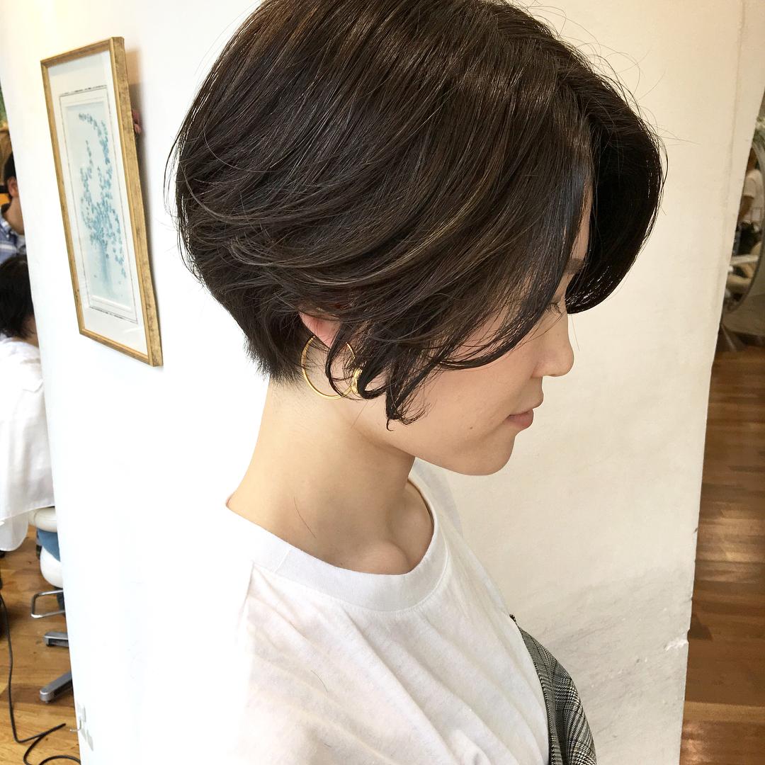 ショート 髪型