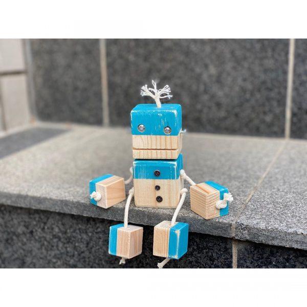 キュートな夏色ロボット