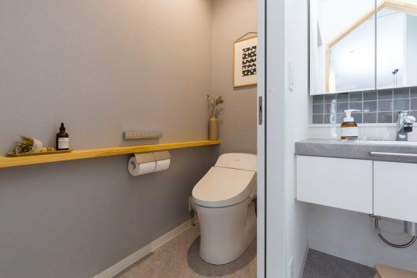 トイレ 壁面 インテリア おしゃれ2