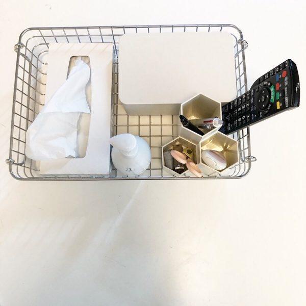 テーブルの上の収納