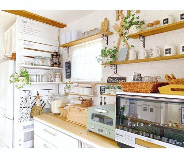 キッチン背面 収納6