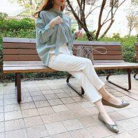 【エピセ毎日コーデ】ミントグリーンコーデで気分も爽やかに♪注目カラーで作るお仕事スタイル(5/26コーデ)