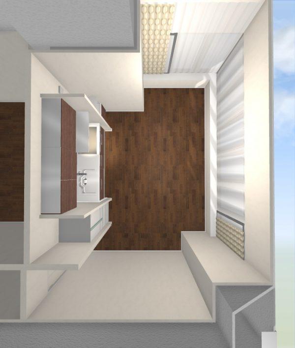 一人暮らし 9畳 家具 レイアウト