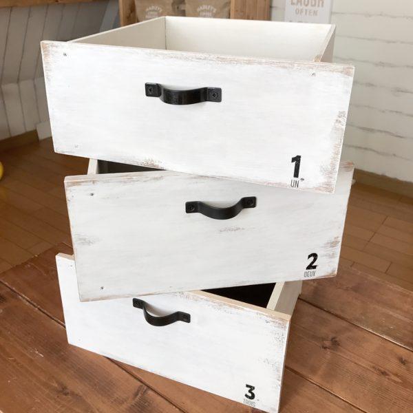 おしゃれな木箱のDIYアイデア