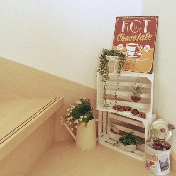 おしゃれな木箱のDIYアイデア12