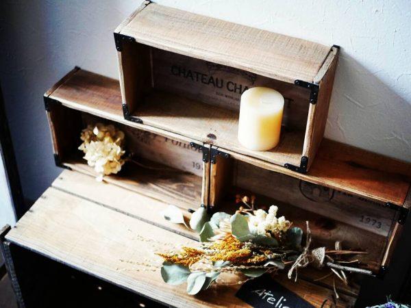 おしゃれな木箱のDIYアイデア15