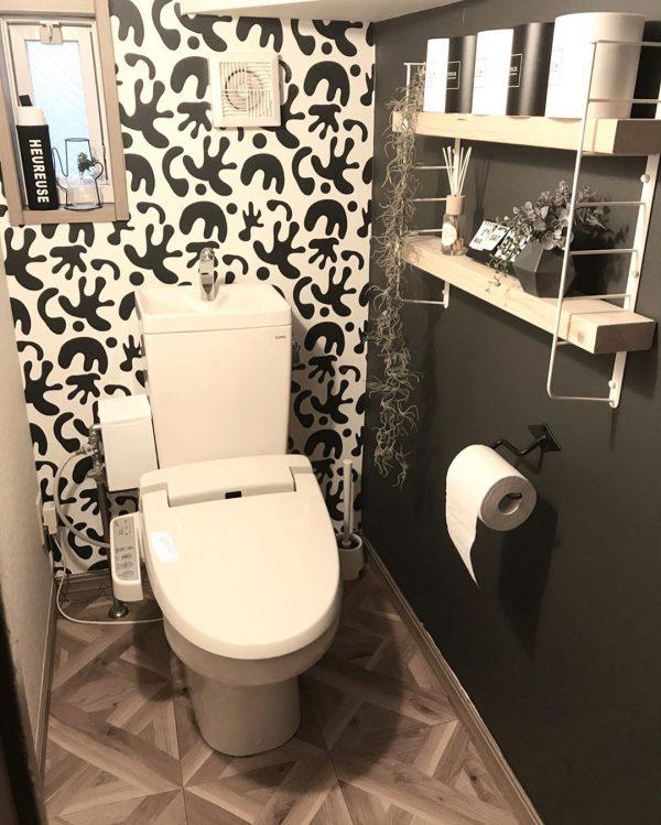 トイレのDIYアイデア6
