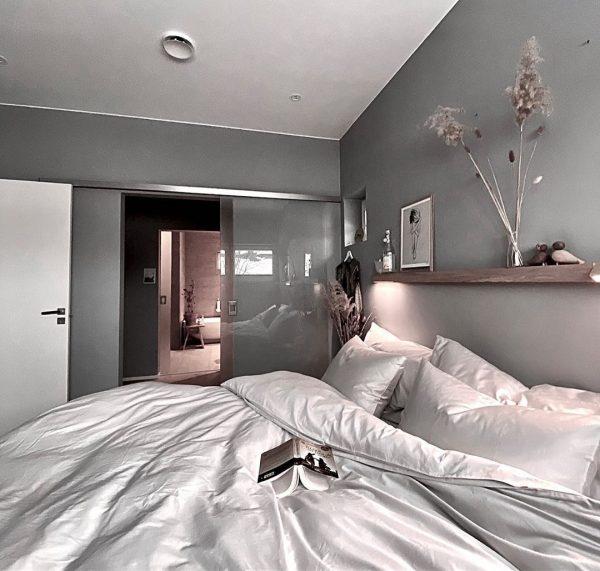 ベッドルームのインテリア10