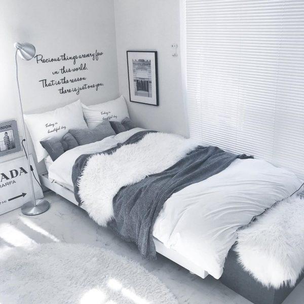ベッドルームのインテリア12