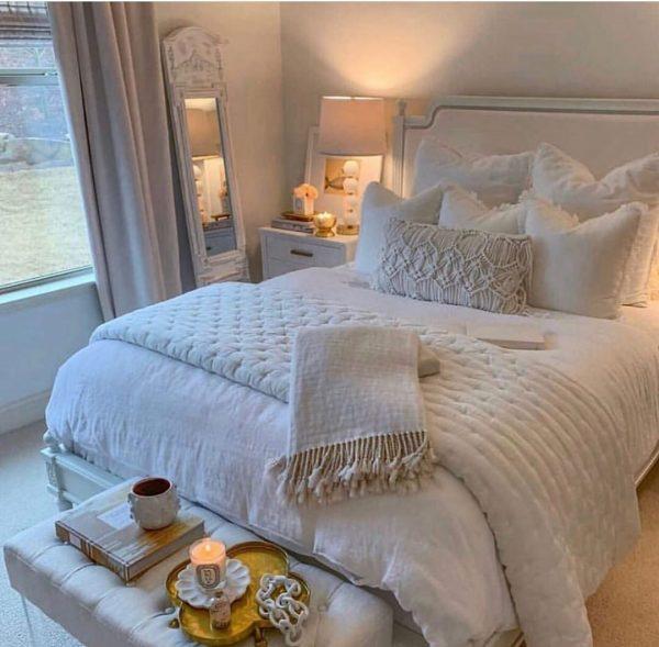 ベッドルームのインテリア13