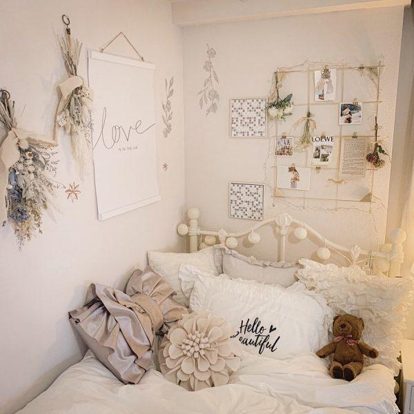 ベッドルームのインテリア14