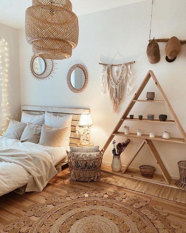 ベッドルームのインテリア7
