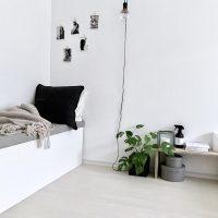 一人暮らしの部屋はモノトーンがおしゃれ♪統一感のあるインテリアコーディネート集