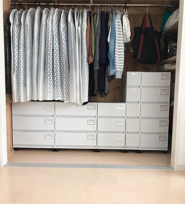 洋服の収納方法2
