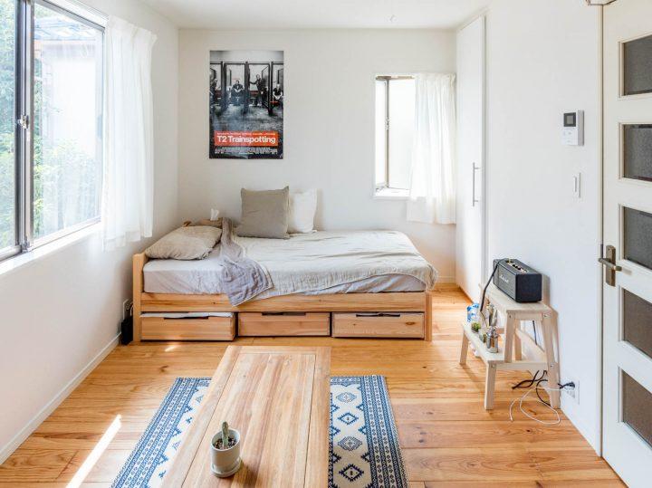 無印良品 パイン材ベッド2