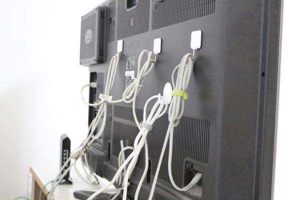 テレビ 配線収納4