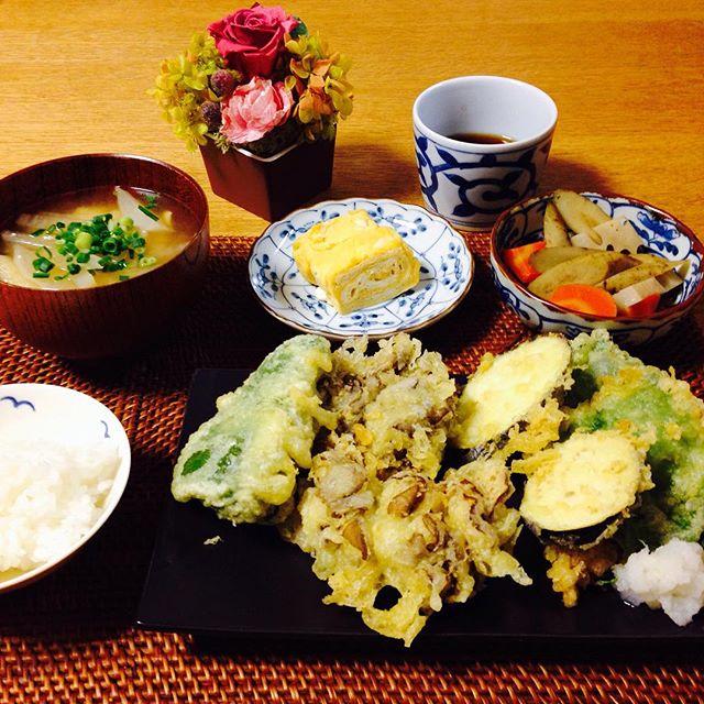 サクサクで美味しい!舞茸の天ぷら