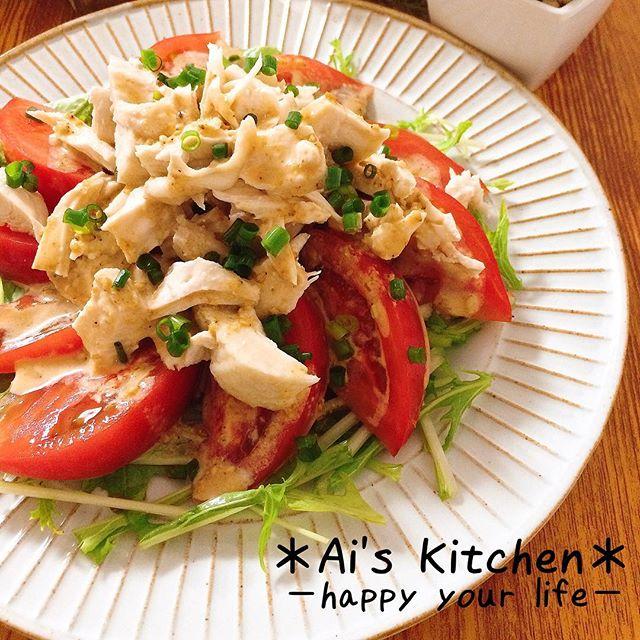 鶏肉を使った簡単な中華レシピ☆むね肉5