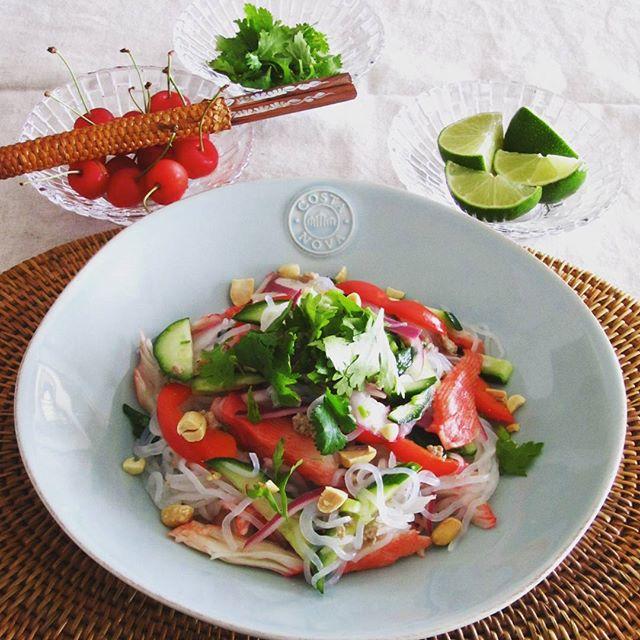 夏の定番料理!タイのヤムウンセン風サラダ