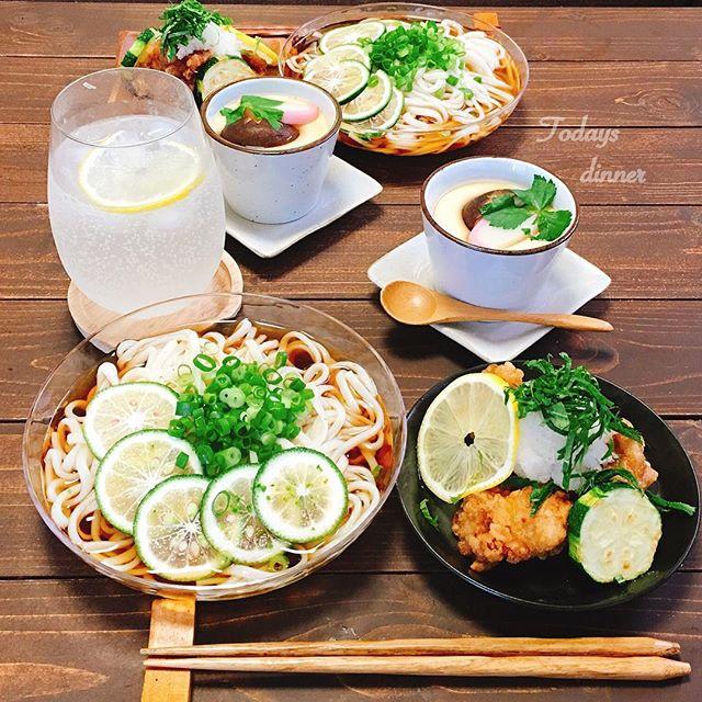 夏におすすめの簡単和食メニュー☆主食