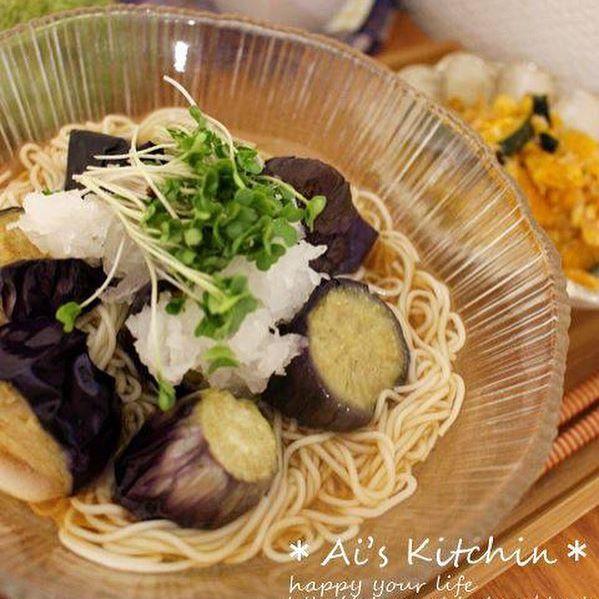 なすの中華風おすすめレシピ《煮物・ごはん・麺類》3