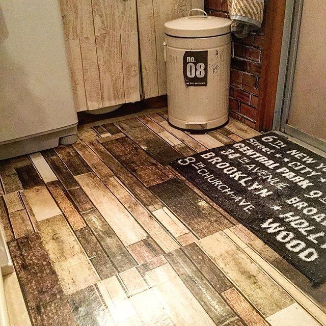 賃貸DIY!100均で床もガラッと模様替え