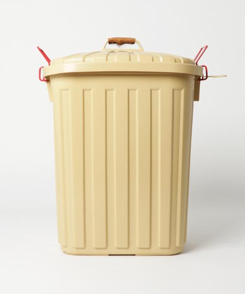 [SPICE OF LIFE] 【日本製/3年保証付き】PALE×PAIL ダストボックス/ゴミ箱 大容量(60L)