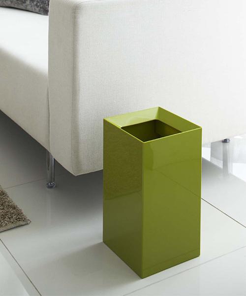 グリーンカラーがおしゃれなゴミ箱