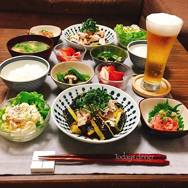 夏におすすめの簡単和食メニュー☆主菜