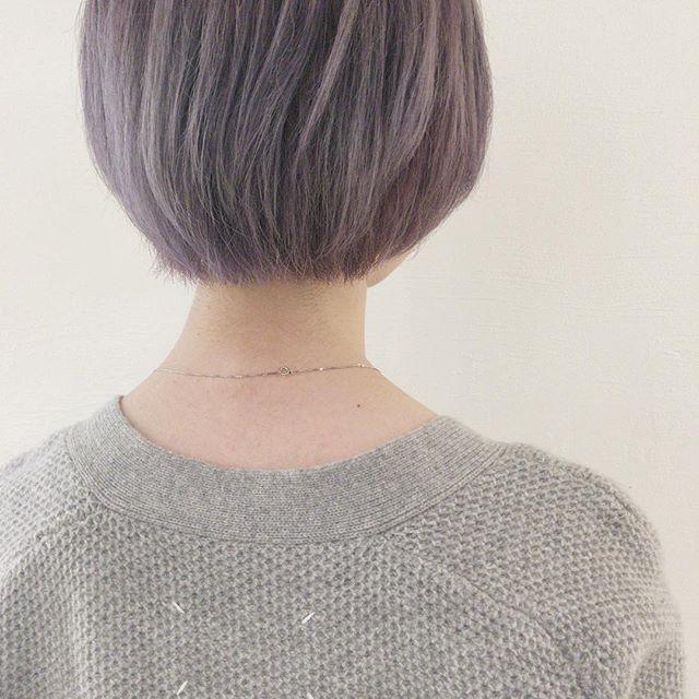 ショートボブに似合うおすすめ髪色17