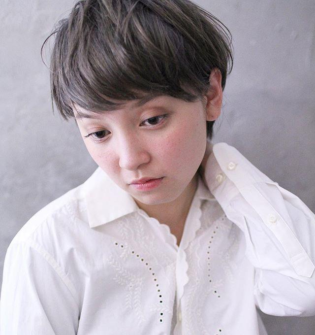 短い前髪×ベリーショート14