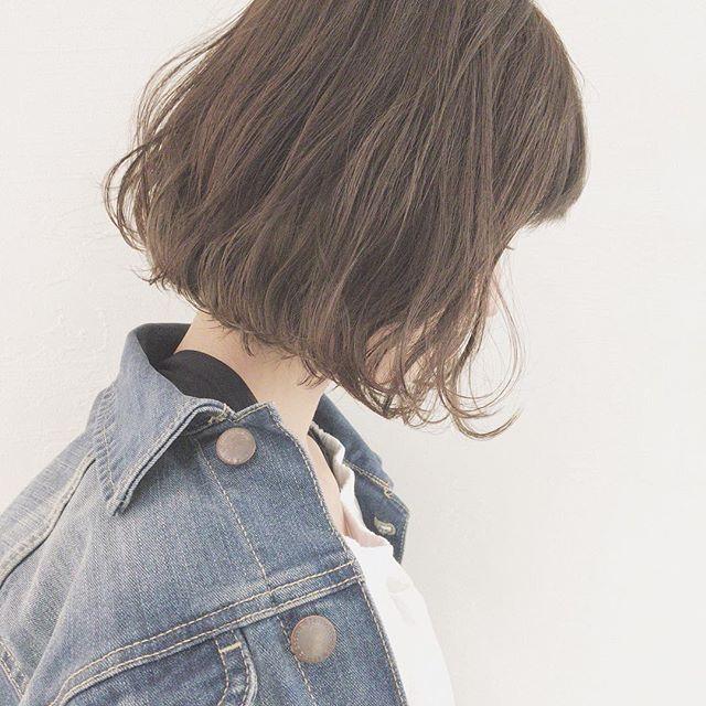 ショートボブに似合うおすすめ髪色7