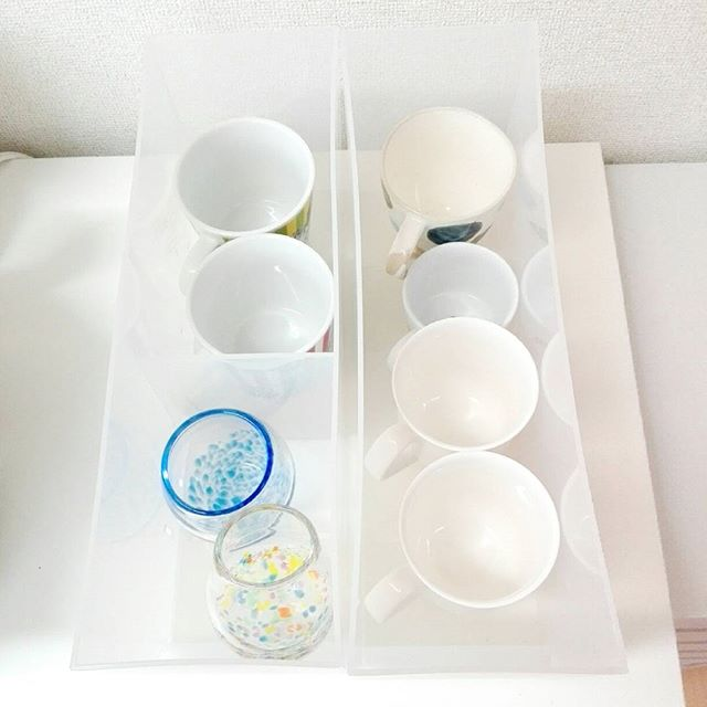 食器棚の収納アイデア11