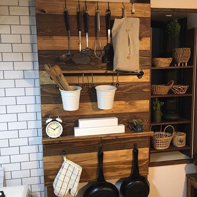 キッチン収納 実例2