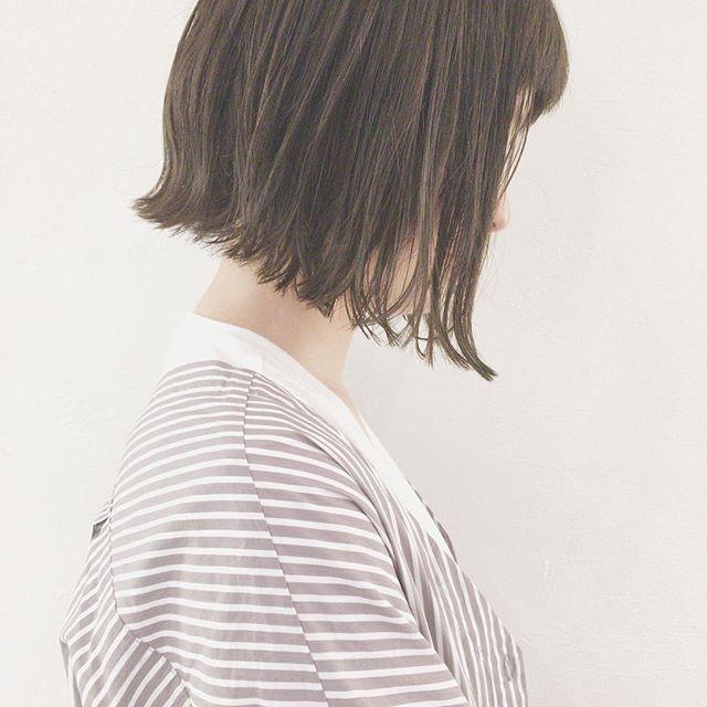 ショートボブに似合うおすすめ髪色9