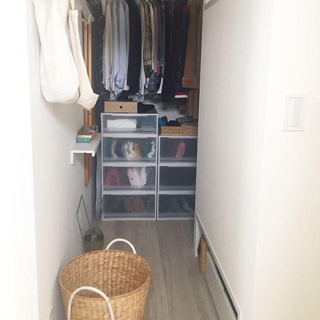 洋服の収納アイデア《クローゼット》3
