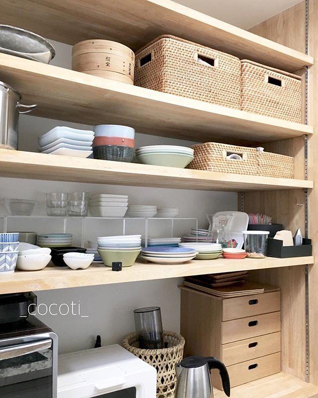 キッチン収納 実例8