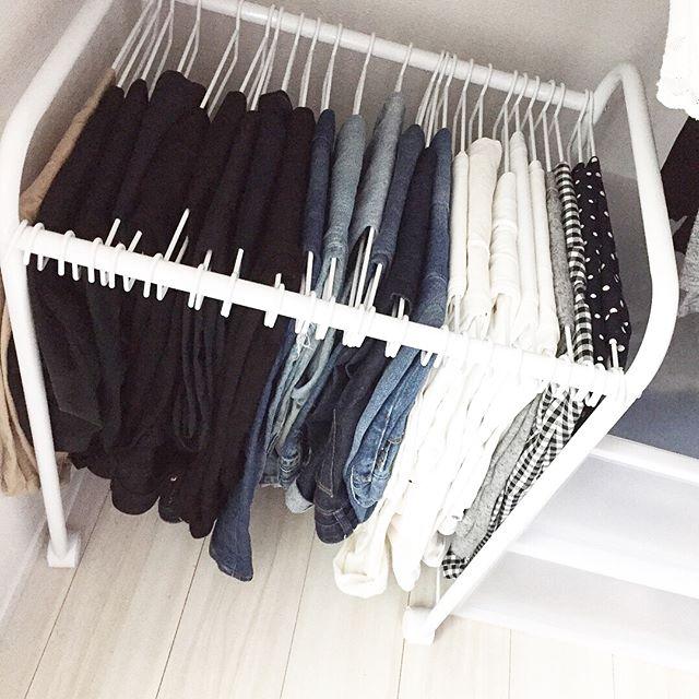 クローゼットの収納方法【洋服】6