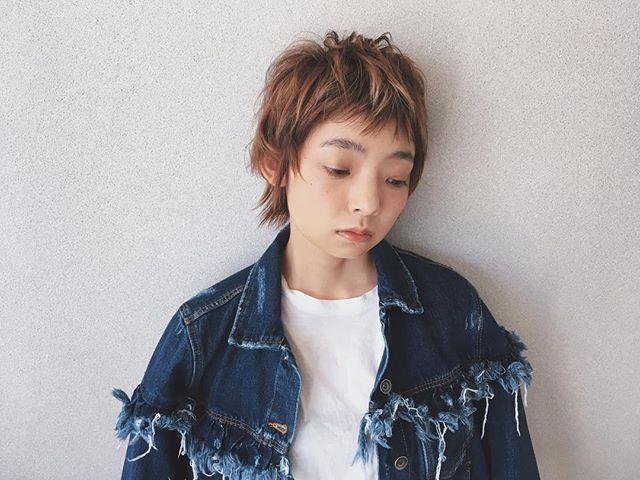 短い前髪×ベリーショート12