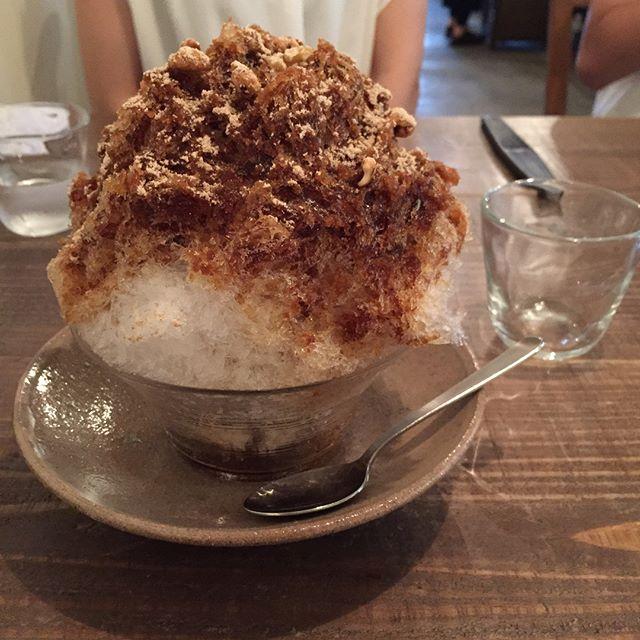 人気のアイデアレシピ!美味しい黒糖かき氷