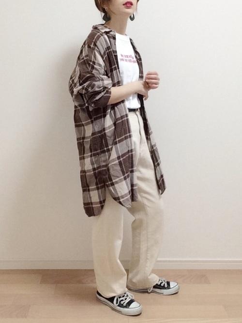 [kutir] 【低身長向けXSサイズあり】ハイウエストストレートデニムパンツ