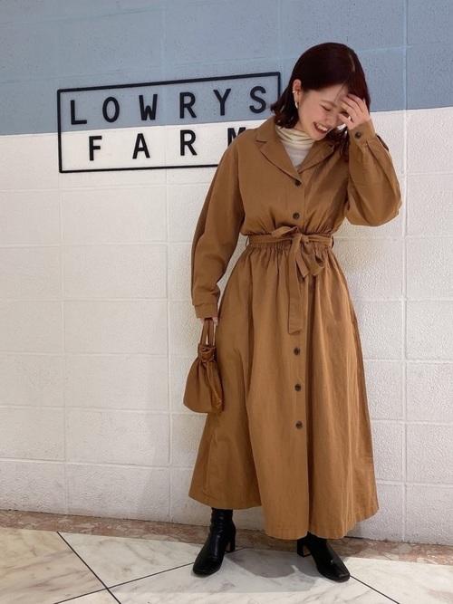 [LOWRYS FARM] カイキンワンピコート/LS 870624