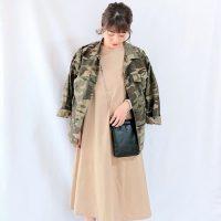 秋の「ワンピース×ジャケット」コーデ【2020最新】きれいめに着こなし方を紹介!