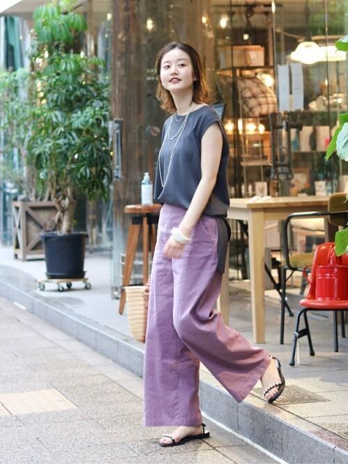 [IENA] 【TSURU by MARIKO OIKAWA】パールサンダル◆