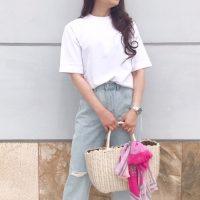 【ユニクロ&GU】の大人女子コーデ♡爽やかホワイトトップスが大活躍!