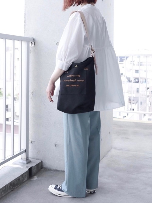 [URBAN RESEARCH] DOUBLE BELT PANTS