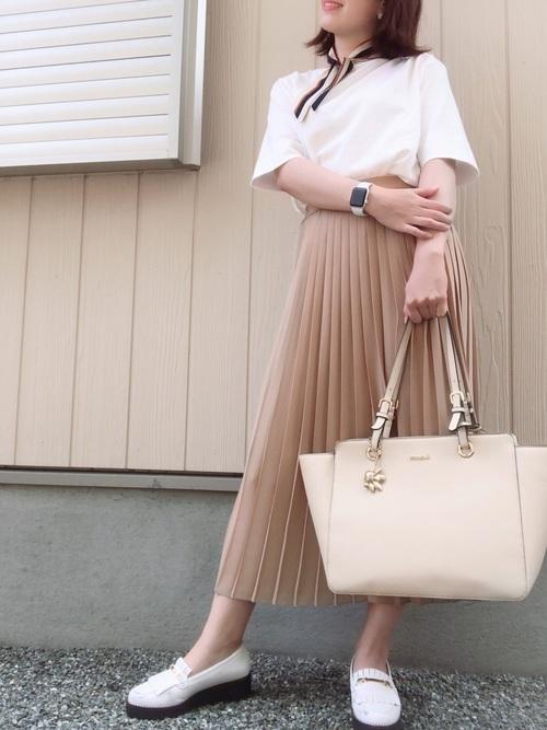 ユニクロ プチプラスカート 大人女子5